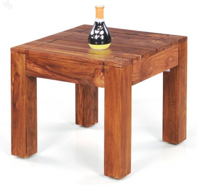 Royal Oak Jade Solid Wood End Table(Finish Color - Honey Brown)