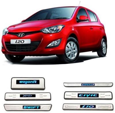 GurujiMart Led Foot Steps for-Hyundai i20 Door Sill Plate