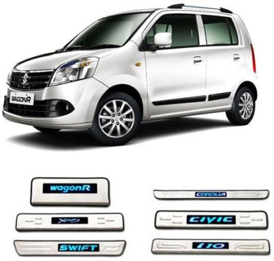 GurujiMart Led Foot Steps for-WagonR Door Sill Plate