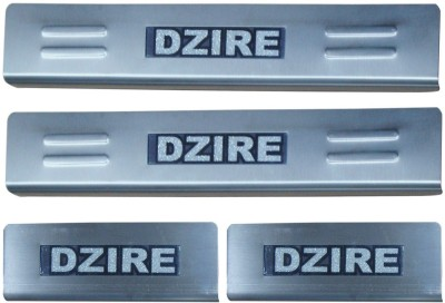 Auto Pearl Car Stainless Steel Sparkling Foot Steps - Maruti Suzuki Swift Dzire Door Sill Plate