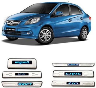 GurujiMart Led Foot Steps for-Honda Amaze Door Sill Plate