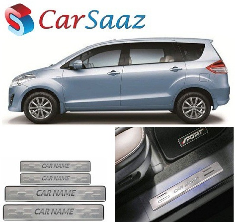 Carsaaz Stainless Steel foot Step Plate for Maruti Suzuki Swift Dzire Door Sill Plate