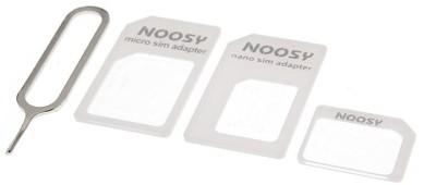 Generix Premium 3 in 1 Noosy White Sim Adapter