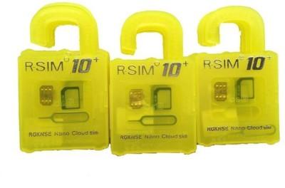 RGKNSE Rsim10+ Sim Adapter(Plastic, Stainless Steel, Silicon)