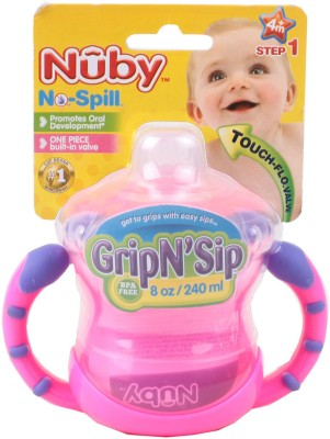 Nuby 2 Handle Cup With Topper - 240ml