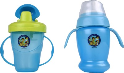 Beebop 250 Ml cup with Handle & Cup with Spill Proof Lid