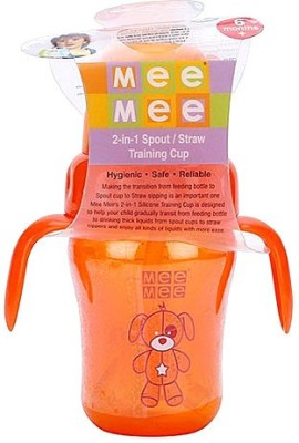 Mee Mee 2-in-1 Spout / Straw Silicone Training Cup