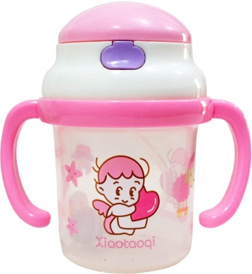 Rachna Baby / Infant 03 PP Water / Juice Training Straw Sipper Cup with Handle - 180ML