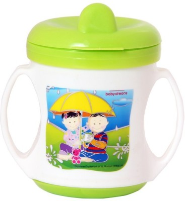 Morisons Baby Dreams Poochie Feeding Cup - Light Green