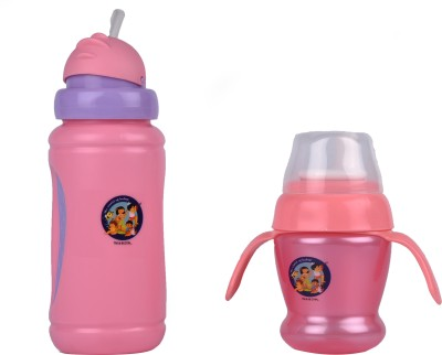 Beebop Sports Sipper with Flip Lid & 150 ML Cup with Handle