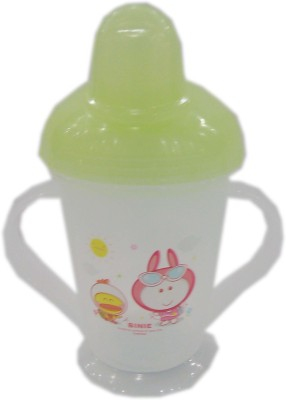 Baby's Clubb Soft Nipple Spout Sipper(Green)