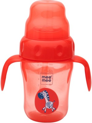Mee Mee 2-in-1 Spout and Straw Sipper Cup(Red)