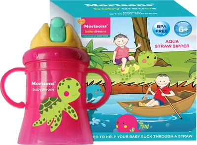 Morisons Baby Dreams Aqua Straw Sipper