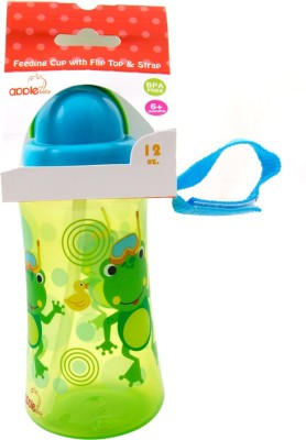 Apple Baby Feeding Cup With Flip Top & Strap