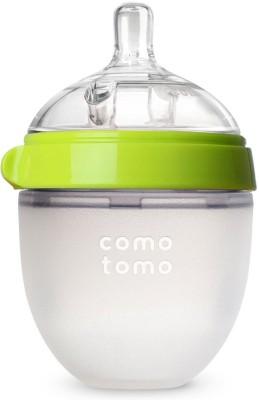 Comotomo Natural Feel Baby Bottle - Single Pack Green 5 oz