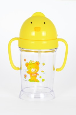 FabSeasons Straw Cup(Yellow)