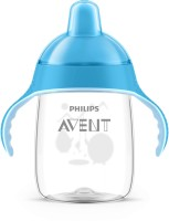Philips Avent Toddler Spout Cup With Twin Handle(Blue)