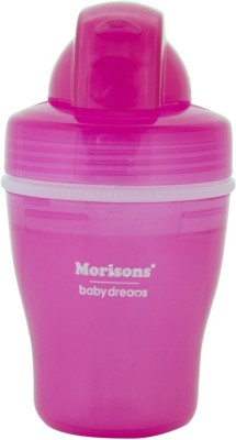 Morisons Baby Dreams Safari Insulated Straw Sipper Pink