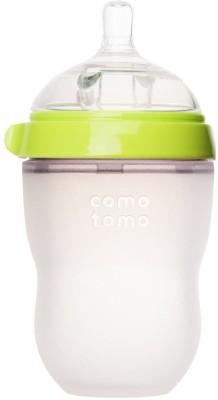 Comotomo Natural Feel Baby Bottle - Single Pack Green 8 oz
