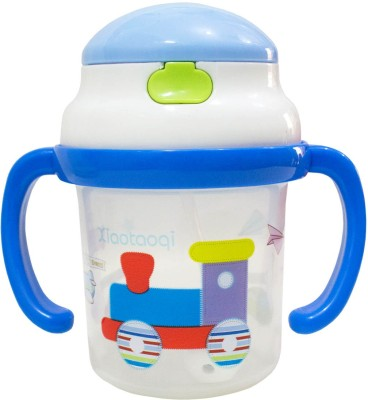 Rachna Baby / Infant 01 PP Water / Juice Training Straw Sipper Cup with Handle - 180ML