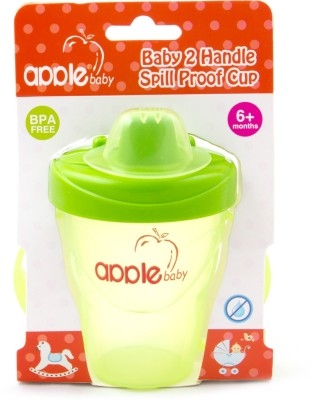 Apple Baby 2 Handle Spill Proof Sipper Cup