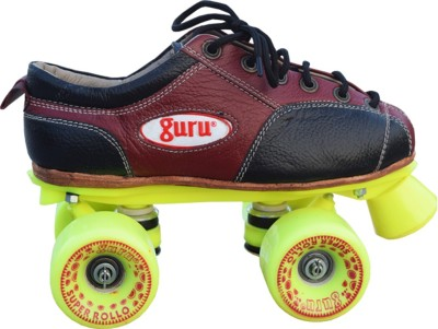 Guru Fix Body Rollo Super Four Wheet Quad Roller Skates - Size 3 UK