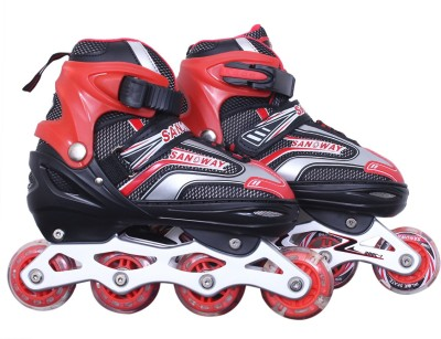 DEZIRE skates with lights in its first wheel In-line Skates - Size 7-9 UK