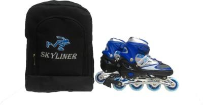 Skyliners Blue In-line Skates - Size 7-9 UK
