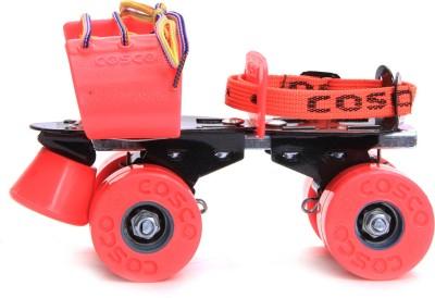 Cosco Zoomer Quad Roller Skates(Pink)