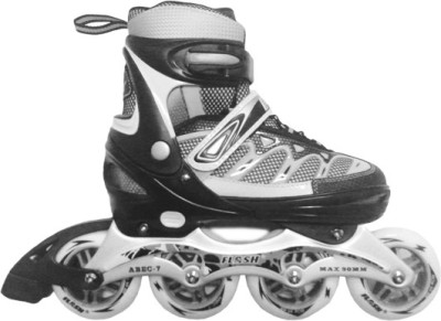 FLASH INLINE SKATES PROFESSIONAL GREY In-line Skates - Size 39-42 UK