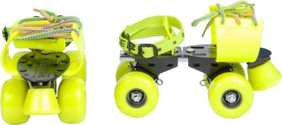 Yonker ADJUSTABLE SKATES ELITE Quad Roller Skates - Size 6 to 9