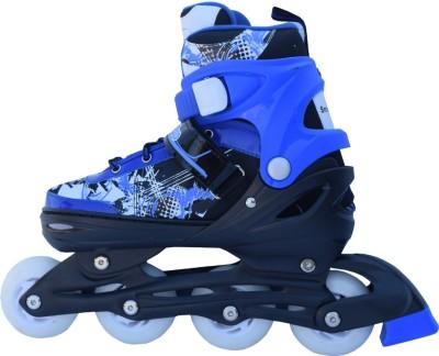 Smart Pro 1163 Blue Large In-line Skates - Size 35 - 38 Euro
