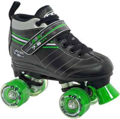 Roller Derby Laser 7.9 Speed Quad Roller Skates - Size 4 US