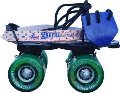 Guru Baby Super Tenacity Roller Quad Roller Skates - Size Freesize