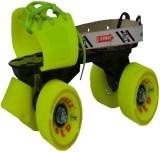 Jonex Gold Quad Roller Skates - Size 3 -...