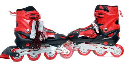 ShopAddict Steel Skates In-line Skates - Size 6-9 UK