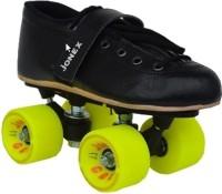 Jonex Gold Quad Roller Skates - Size 4 US(Black)