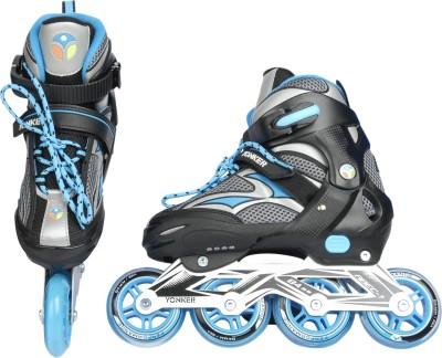 Yonker ADJUSTABLE INLINE SKATES In-line Skates - Size 3 to 6 UK