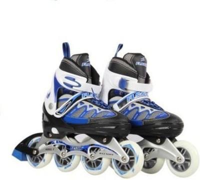 flash Inline Skate Quad Roller Skates - Size 12-16 UK
