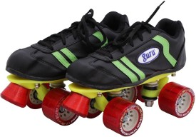 Guru Gold Quad Roller Skates - Size 2 UK