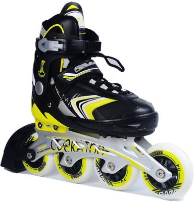Cockatoo Professional Body Adjustable Size 35 TO 38 In-line Skates - Size 35-38 UK