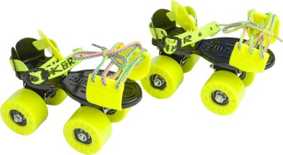 Yonker ADJUSTABLE SKATES ELITE Quad Roller Skates - Size 3 to 6