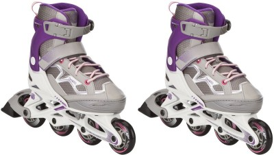 oxelo Roller-Fit3-Junior-Girl In-line Skates - Size 13 - 2.5 UK