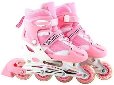 Options Adjustable Four Wheel In-line Skates - Size 35-38 Euro