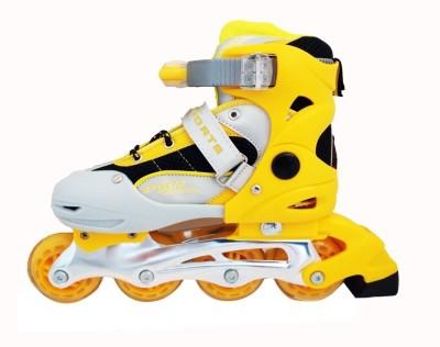 MetroSports Metro Sports Yellow Inline Roller In-line Skates - Size S Euro