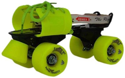 JJ Jonex GOOD QUALITY SUPER TENACITY Quad Roller Skates - Size 3-10 UK