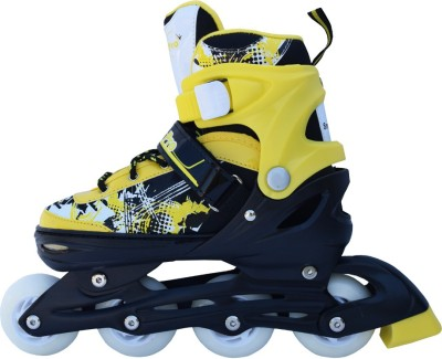 Smart Pro 1161 Yellow Medium In-line Skates - Size 31 - 34 Euro