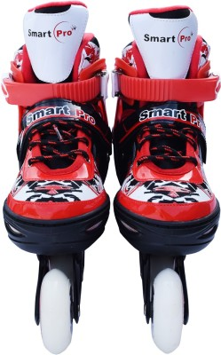 Smart Pro 1163 Red Extra Large In-line Skates - Size 39 - 42 Euro