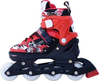 Smart Pro 1161 Red Medium In-line Skates - Size 31 - 34 Euro