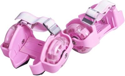 Zinc Street Gloders Pink Quad Roller Skates - Size OS UK